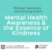 Webinar to Create Awareness About Mental Health and Essence of Kindness